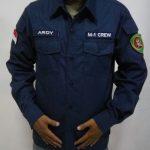 Seragam Kantor Siwalima (pengawalan)