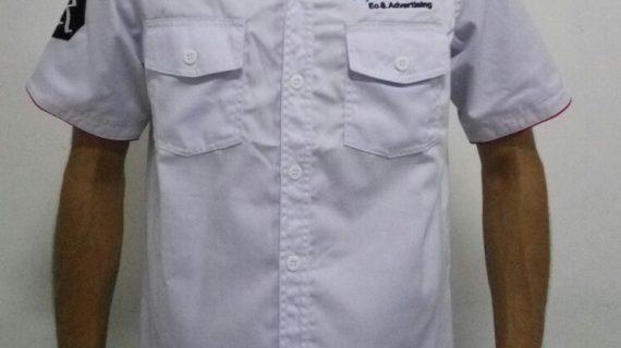 Baju seragam kantor kerja lapangan yang stylish