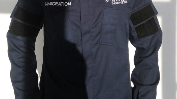 Seragam Kantor Immigration Consulate Republic Indonesia