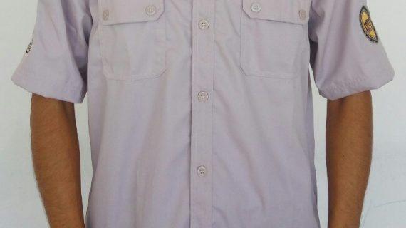 Baju seragam kantor garuda food dengan pilihan warna cerah